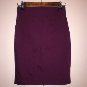 EXCELLENT CONDITION Express wine pencil skirt